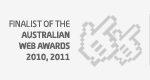 Finalist Australian Web Awards 2010